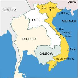 Previsioni del tempo in Vietnam