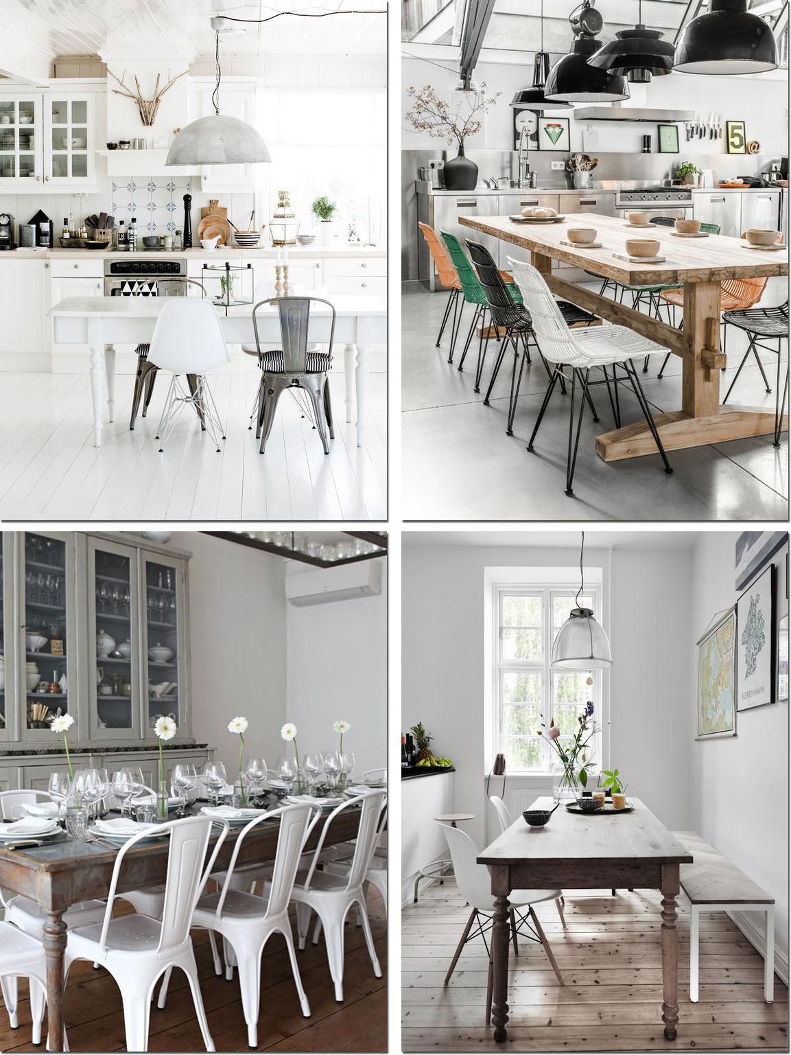 Sedie unire il rustico al moderno shabby chic interiors for Sedie per soggiorno moderno