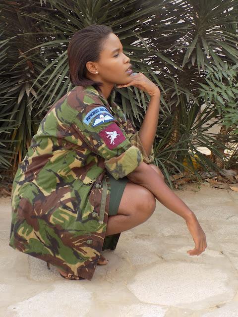 FashionDRA| Lookbook : 02 ways to style a camo jacket