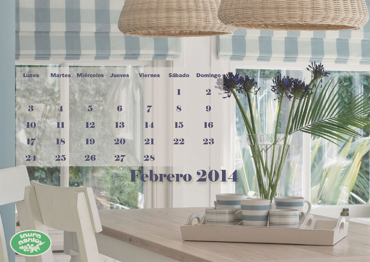 Calendario Laura Ashley Descargable