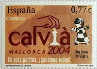 XXXVI OLIMPIADA DE AJEDREZ, CALVIÁ 2004