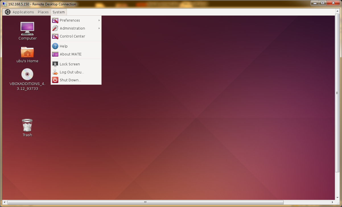 How to connect Remote desktop Connection From Window 7/8 to Ubuntu