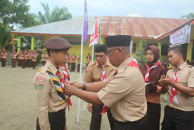 Kakankemenag Tanjungbalai Buka Kegiatan Kemah Dakwah Tingkat Penggalang