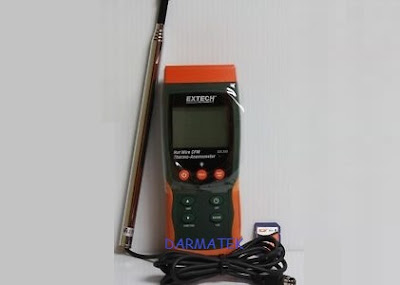 Jual Extech SDL-350 Hot Wire CFM Thermo-Anemometer/ Datalogger
