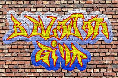 Cara Membuat Graffiti Dengan GIMP