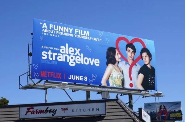 Alex Strangelove film billboard