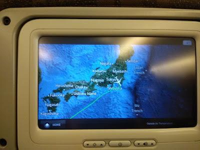 Peta perjalanan Jakarta Jepang