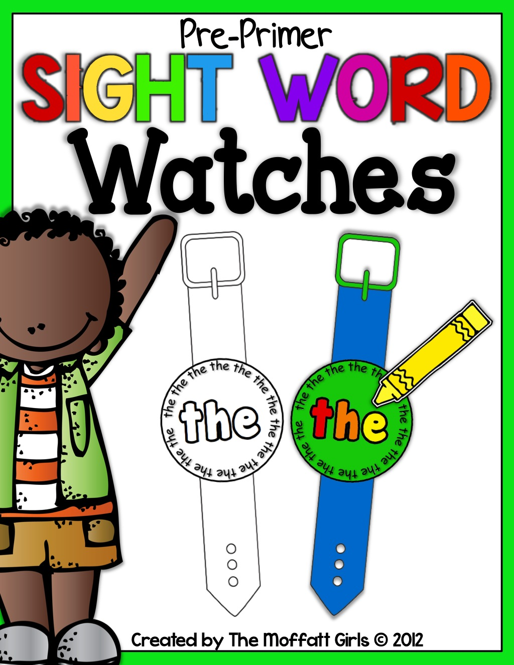Time For Sight Words Watches