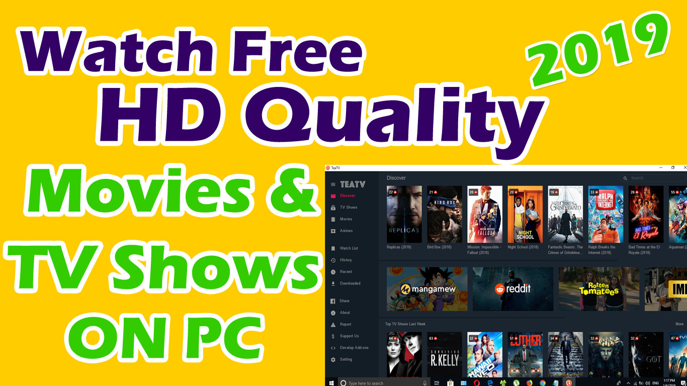 How To Watch Free Movies Tv Shows On Your Computer 2019