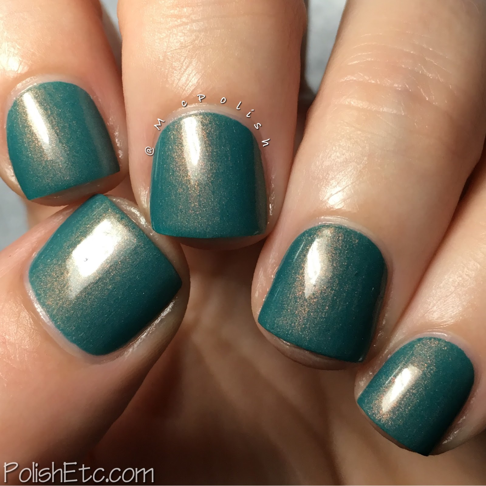 Native War Paints - Copper Penny Collection - McPolish - My Favorite Copper Sweater