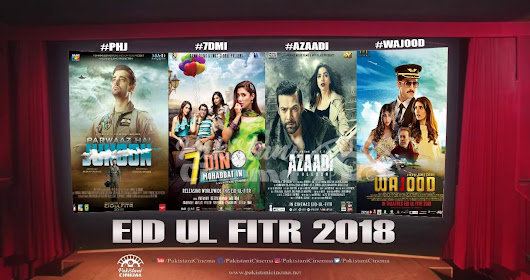 4 Pakistani Movies releasing on this Eid-ul-fithar