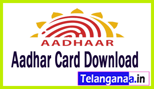 Aadhar Card Online Download