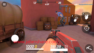 Free Download Guns of Boom - Online Shooter Mod Apk Terbaru Full For Android