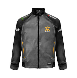 Jacket Gaming - Jaket Fnatic 2017