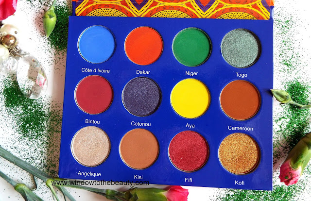 Afrique Palette Review opinion and swatches