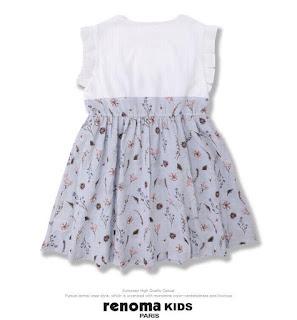 Đầm bé gái vải kate cotton xịn dư Hàn Quốc, made in vietnam.