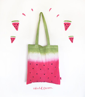 Watermelon Bag Etsy Rachillustrates