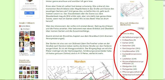 Texte zu den einzelnen Themen in meinem Blog (c) by Joachim Wenk