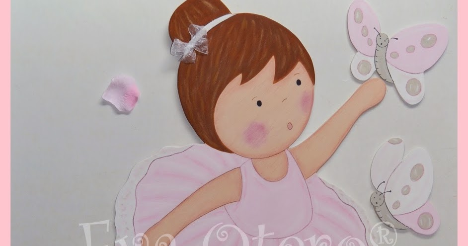 SILUETAS INFANTILES EVA OTERO: SILUETA BAILARINA DE BALLET