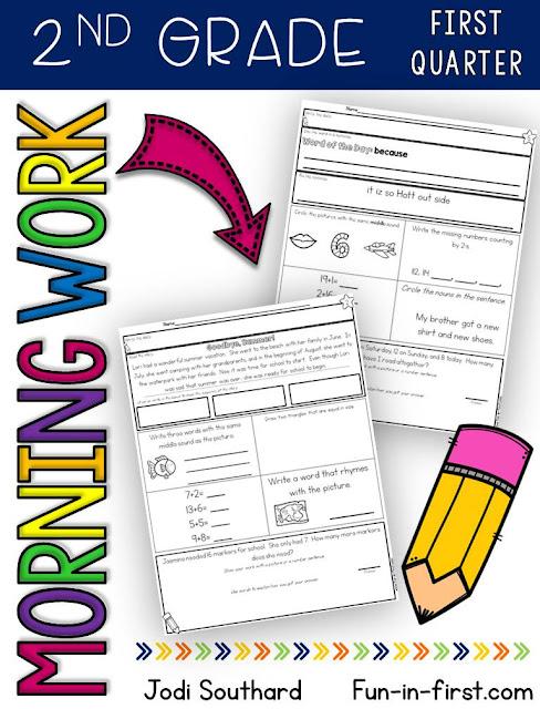 https://www.teacherspayteachers.com/Product/2nd-Grade-Morning-Work-First-Quarter-2584539