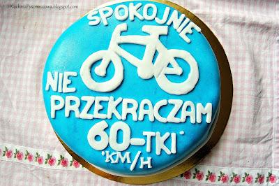 Tort na 60-te urodziny