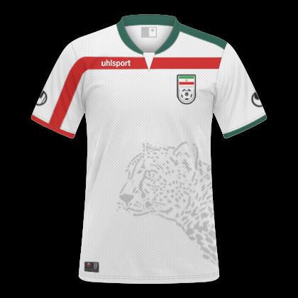 Camisas Irã 2014   2015 - Home e Away 177abdf5242d0