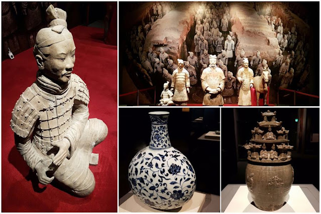 Una visita al Museo de Arte Islámico de Doha Exposicion Guerreros de terracota