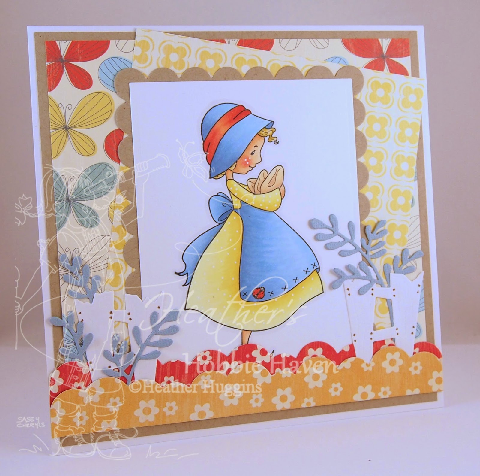 Heather's Hobbie Haven - Lucy Card Kit