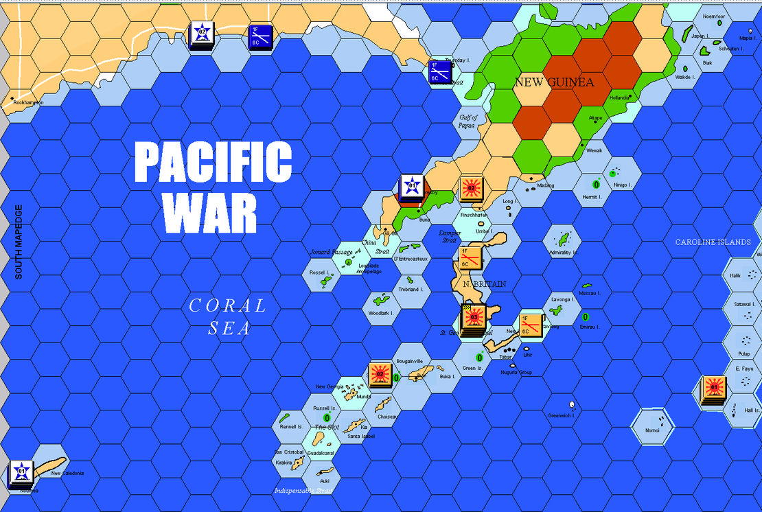 Pacific War - The Battle of the Coral Sea