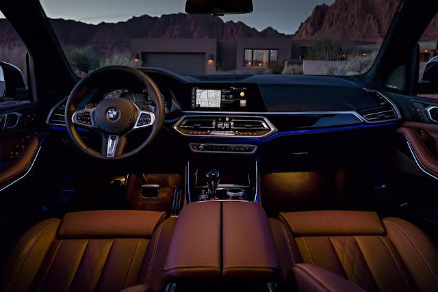 BMW revela detalhes do cockpit digital do Série , X5 e Z4