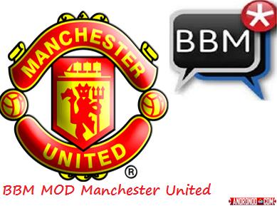 BBM Mod Manchester United (MU) v3.0.1.25 Apk Clone Terbaru