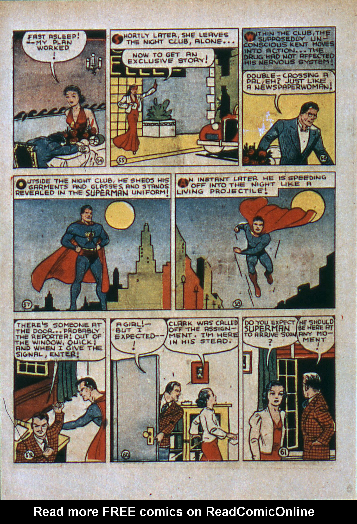 Read online Action Comics (1938) comic -  Issue #6 - 11