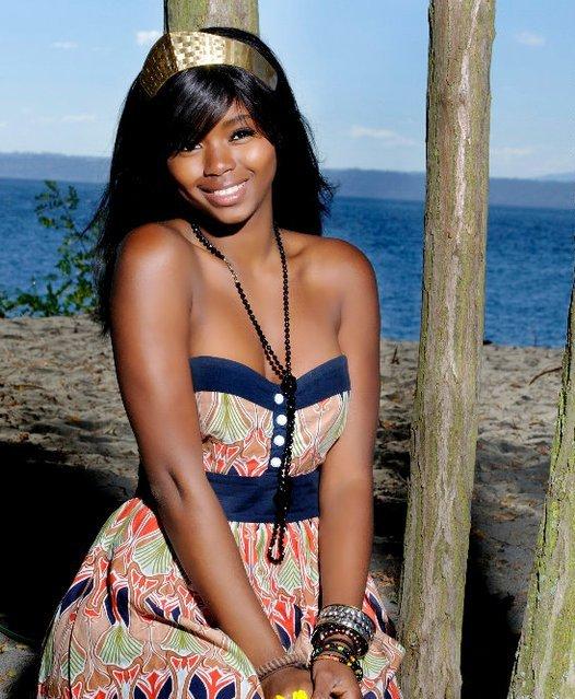 Power Hot black girl bikini funny nude