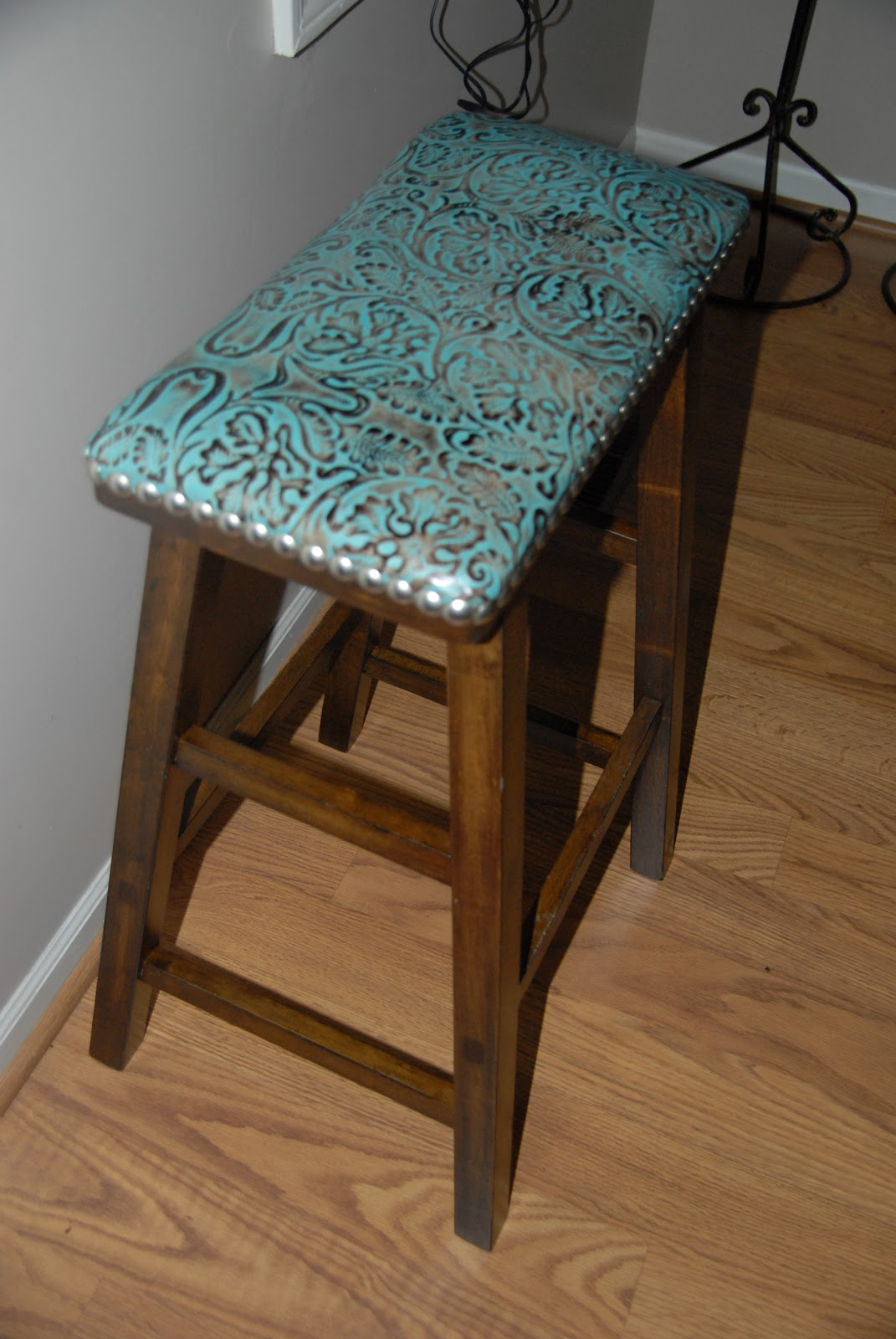 Crystal Cattle Turquoise Bar Stools Turquoise Thursday