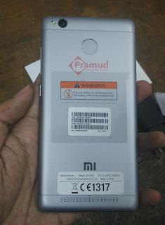 kamera dan fingerprint xiaomi redmi 3S pro indonesia