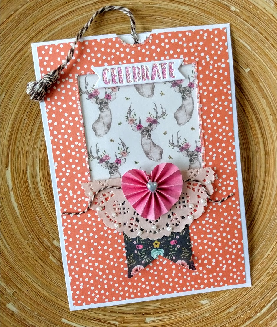 "Pullout tag card tutorial trimcraft ""forever free"" paper free."