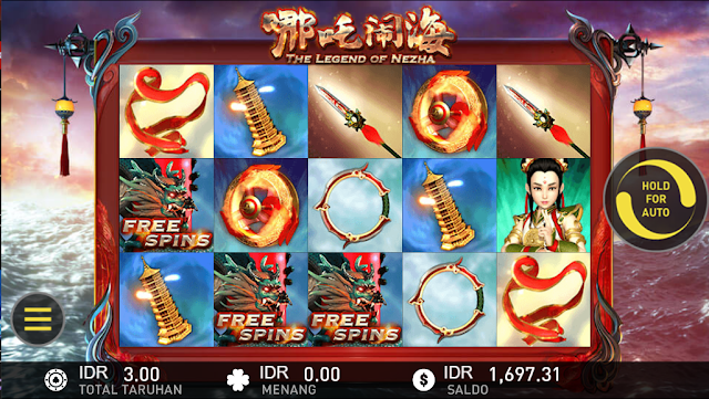 SITUS AGEN SLOT THE LEGEND OF NEZHA GAMES W88
