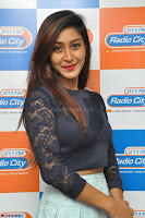 Shravya in skirt and tight top at Vana Villu Movie First Song launch at radio city 91.1 FM ~  Exclusive 31.JPG