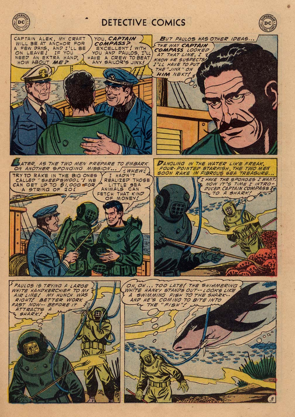 Read online Detective Comics (1937) comic -  Issue #212 - 16