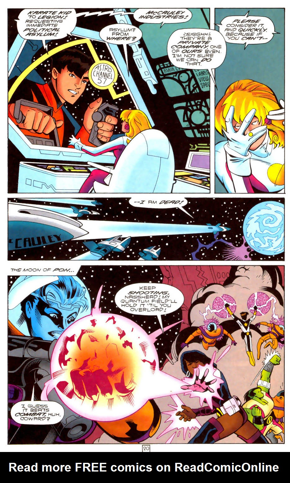 Legion of Super-Heroes (1989) 103 Page 19