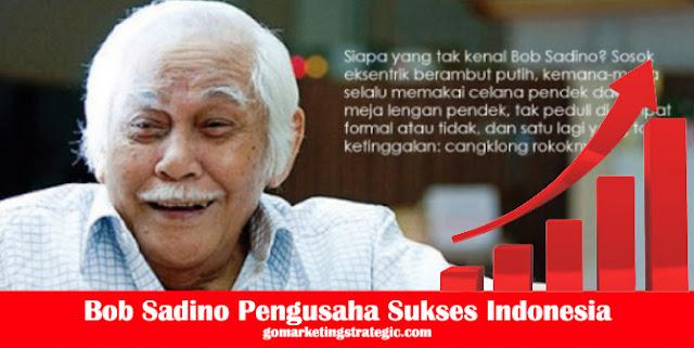 Bob Sadino Pengusaha Sukses Indonesia