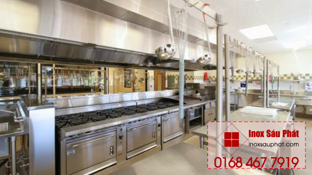 Cửa hàng gia công inox theo yêu cầu tại TPHCM - Inox Sáu Phát