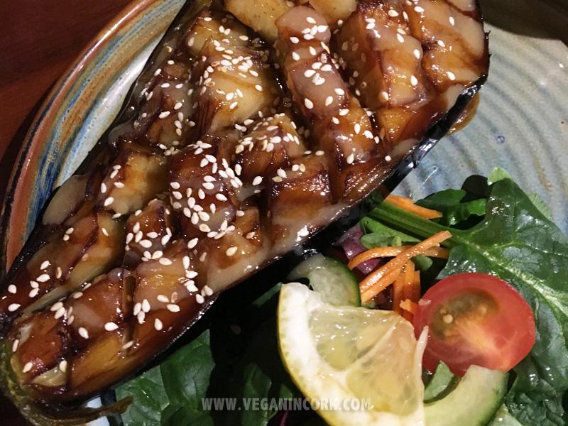 Eggplant dengaku Sakura Japanese restaurant Cork