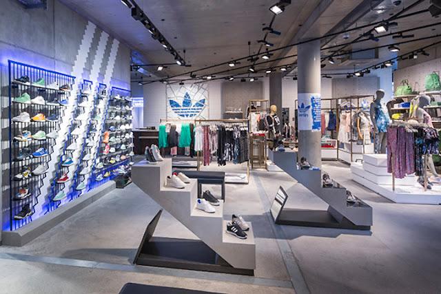 Loja da Adidas em Miami