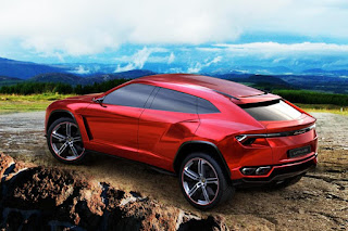 Lamborghini's first SUV: the Urus