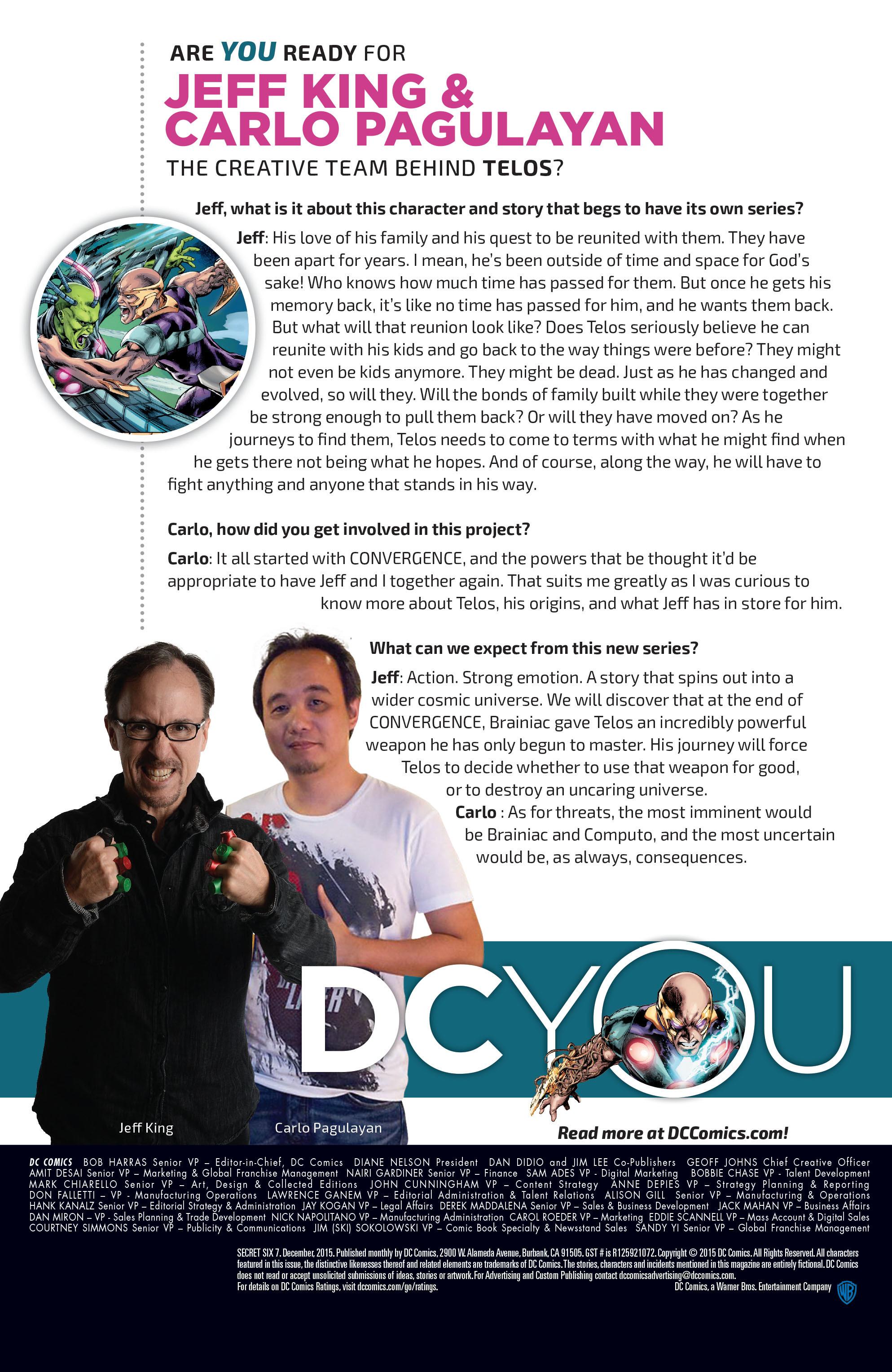 Read online Secret Six (2015) comic -  Issue #7 - 23
