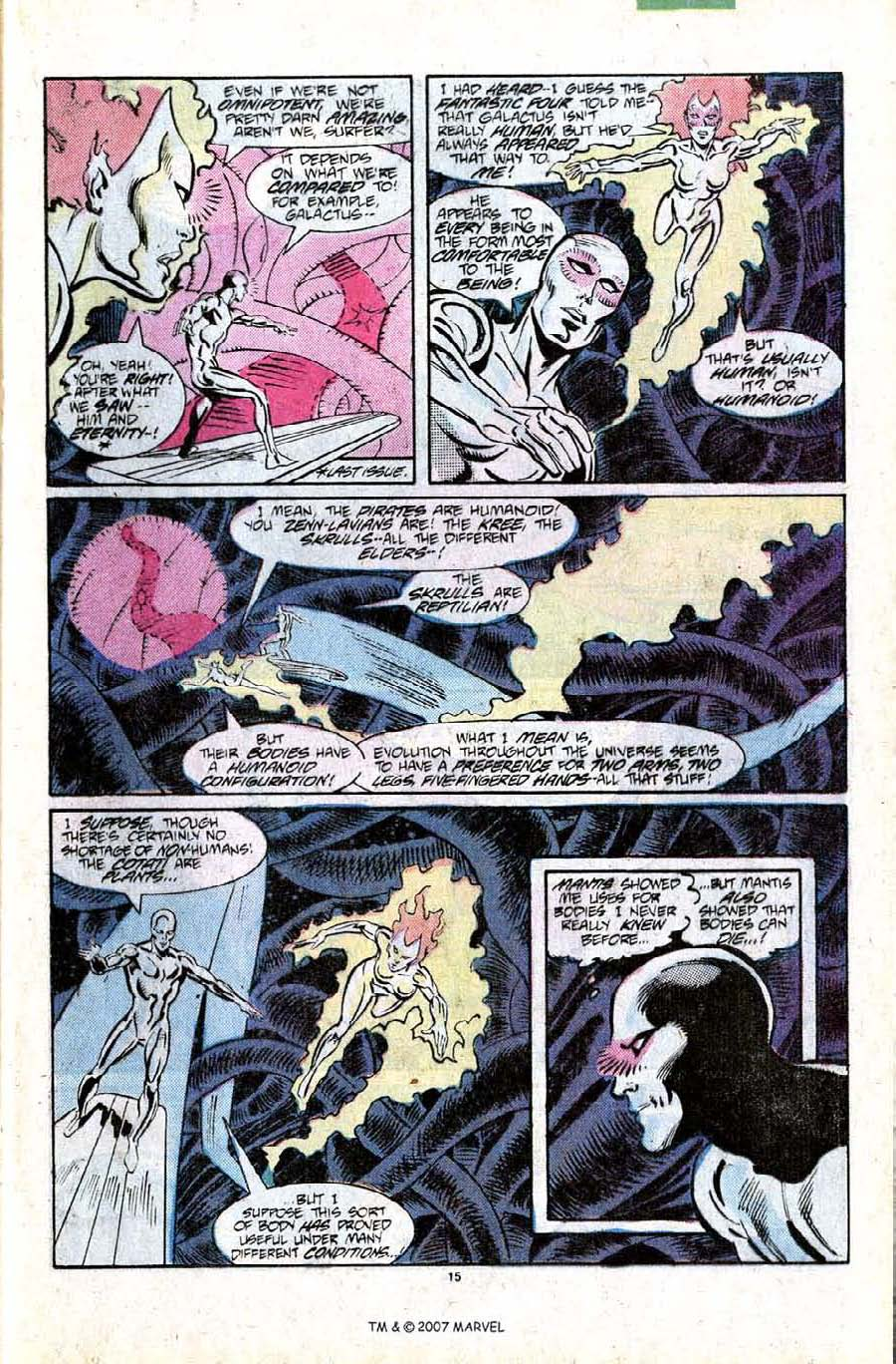 Read online Silver Surfer (1987) comic -  Issue #11 - 17