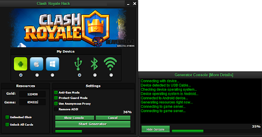 Clash Royale hack Cheat tool FREE Download