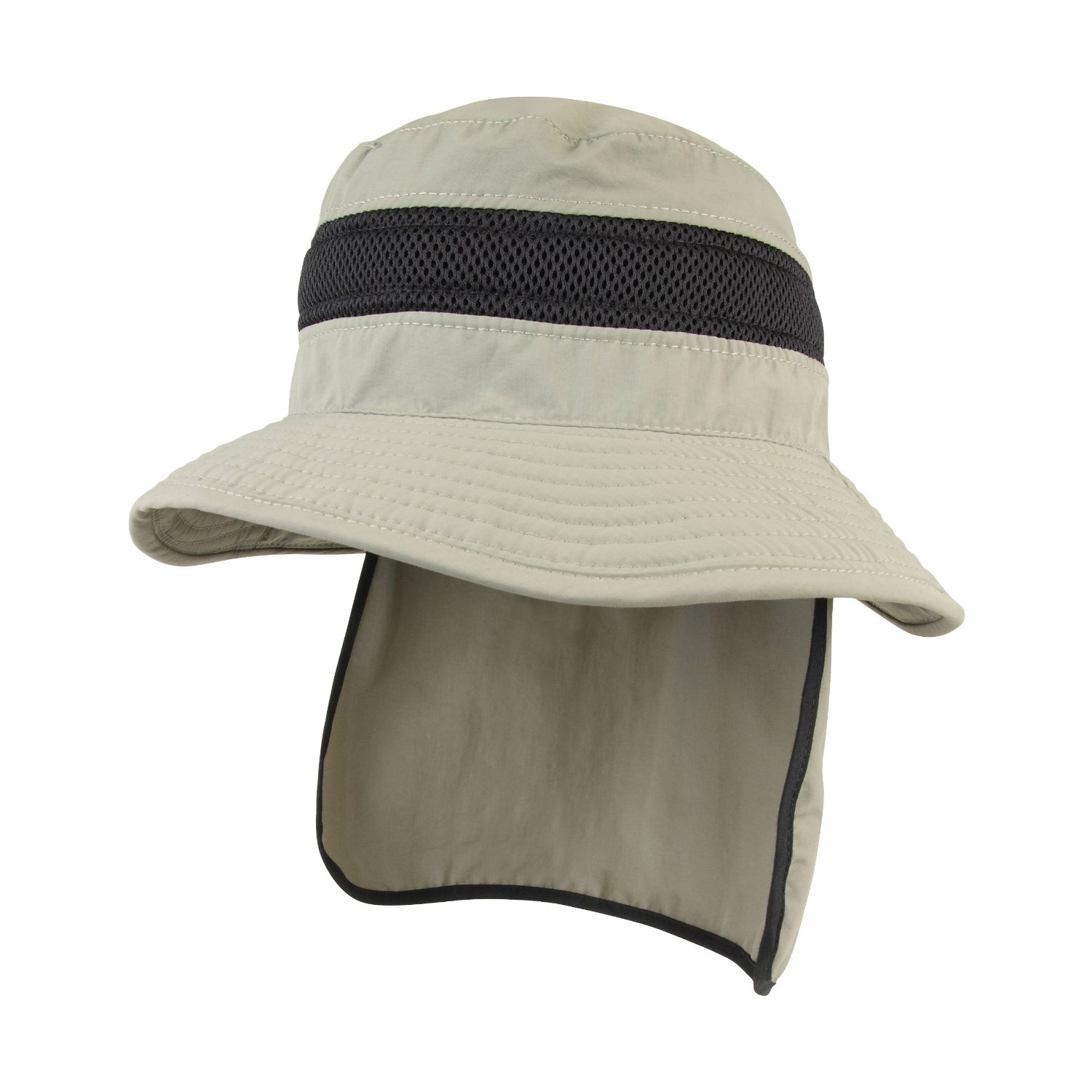 JUNIPER UNISEX UV BUCKET HAT WITH NECK FLAP (J7211) REVIEW  4f979d1d9b5a