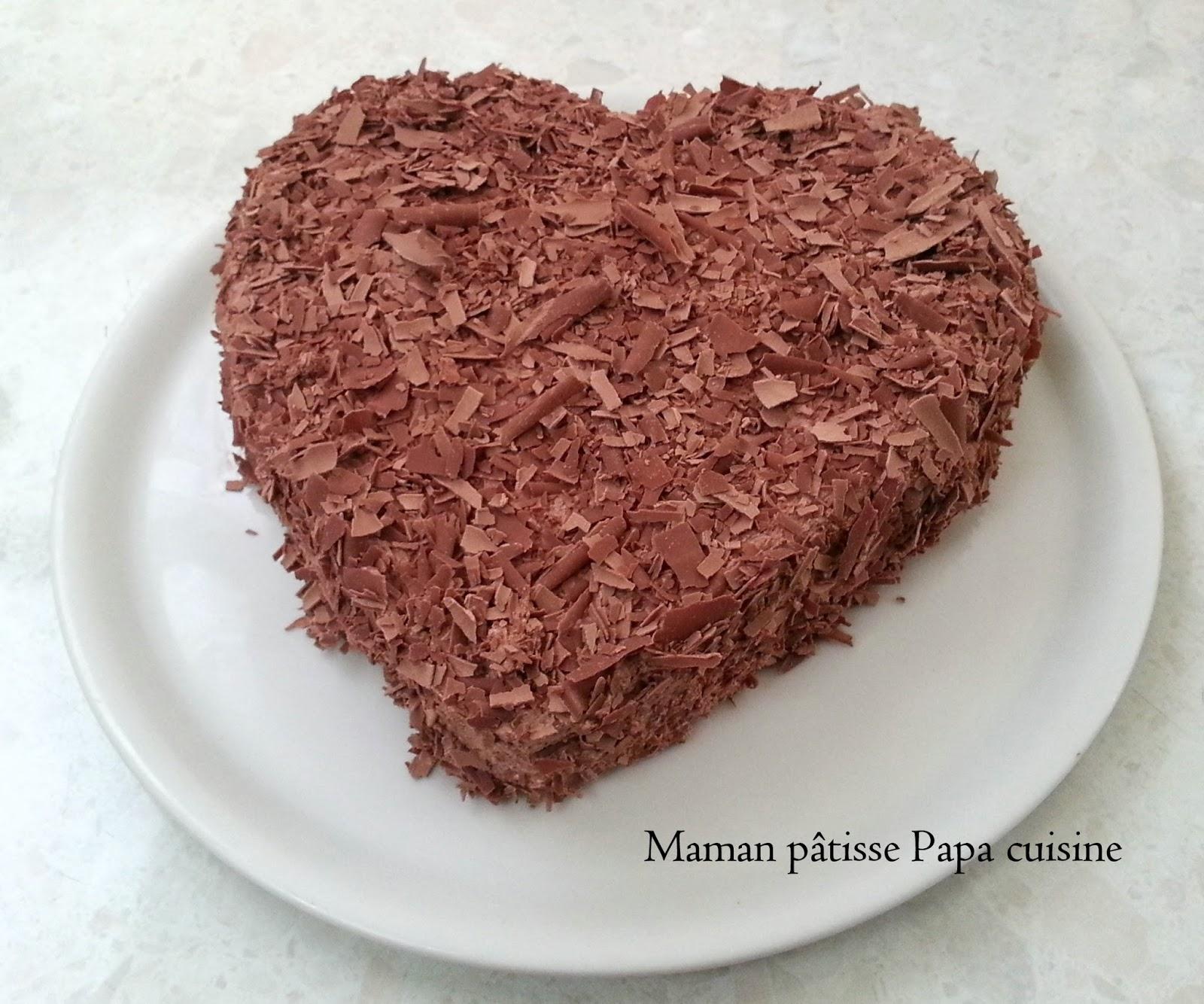 Maman p tisse papa cuisine merveilleux chocolat en forme for Tamiser cuisine